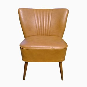 Deutscher Sessel aus Kunstleder, 1960er