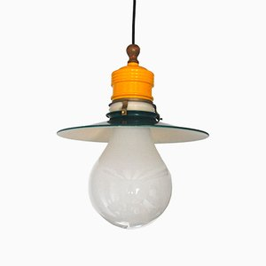 Vintage Spanish Pendant Lamp from Metalarte
