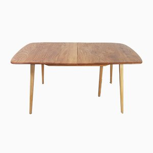 Vintage Extending Dining Table in Elm by Lucian Ercolani for Ercol, 1960s