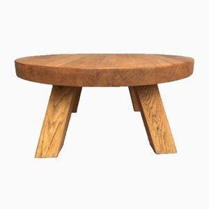 Tavolino da caffè Mid-Century in quercia, Francia