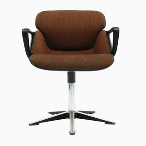 Model 190 Office Chair with Armrests by Hans (Nick) Roericht for Wilkhahn
