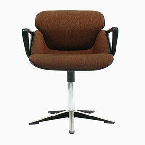 Modell 190 Bürosessel mit Armlehnen von Hans (Nick) Roericht für Wilkhahn