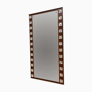 Vintage Mirror par Erik Höglund pour Eriksmålaglas