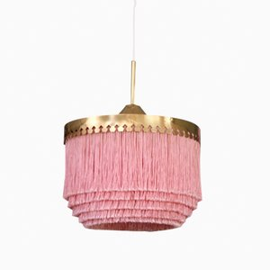 T601 Pink Ceiling Lamp by Hans-Agne Jakobsson, 1960s