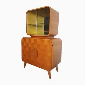 Mueble bar Atomic de Jindřich Halabala para UP Závody, años 50