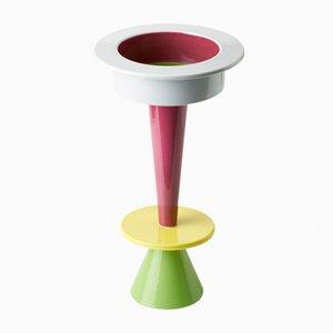 Vaso rotondo a tre elementi di Karim Rashid per Bitossi, 2006