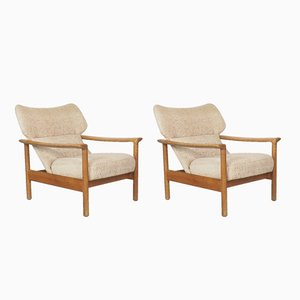 Lounge Chairs from Goldfeder, 1960s, Set of 2