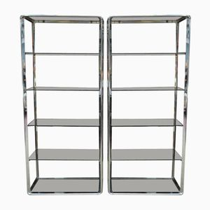 Mid-Century Shelves from Fratelli Orsenigo, Set of 2