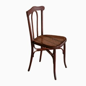 Antique Bentwood Chair by L. & H. Cambier Frères, 1900s