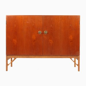 Danish Teak Cabinet by Børge Mogensen for FDB, 1950s
