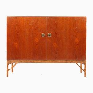 Mueble danés de teca de Børge Mogensen para FDB, años 50