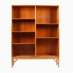 Vintage Danish Oak Bookcase by Børge Mogensen for FDB