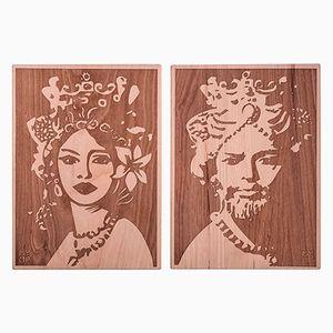 Mori Wood Cutting Boards from MYOP, Set of 2