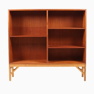 Vintage Danish Teak Bookcase by Børge Mogensen for FDB, 1960s