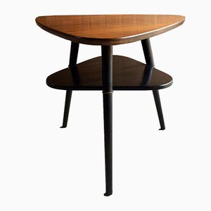 Mid-Century Danish Two-Tier Side Table, 1960s