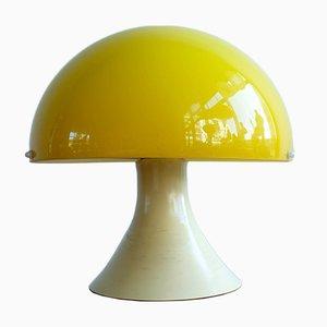 Vintage Yellow Plastic Lamp, 1970s