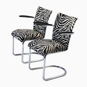 Stühle von Gebroeders De Wit, 1950er, 2er Set