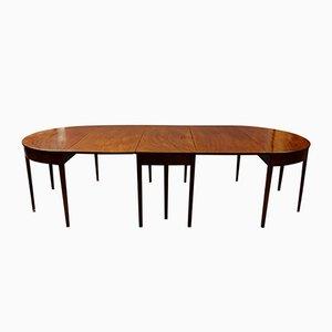 Tavolo da pranzo grande imperiale in mogano, inizio XIX secolo