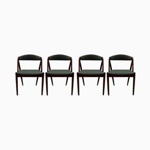 Modell 31 Esszimmerstühle von Kai Kristiansen & Schou Andersen, 1960er, 4er Set
