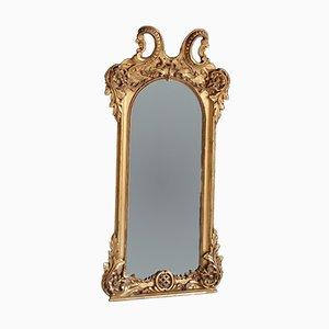 Specchio grande dorato, XIX secolo