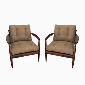 Brazilian Armchairs, 1960s, Set of 2