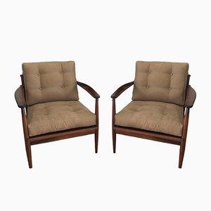 Brazilian Armchairs, 1960s, Set of 2