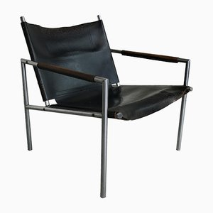 Dutch Lounge Chair SZ02 by Martin Visser for 't Spectrum, 1960s
