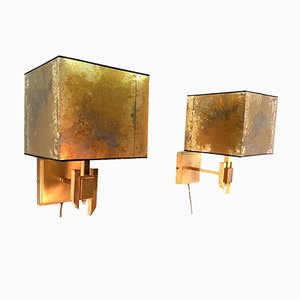 Hollywood Regency Wall Lamps, Set of 2