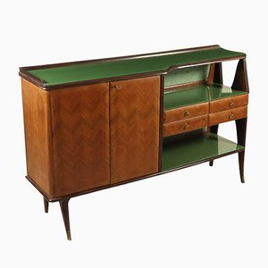Mid-Century Rosewood Veneered Cupboard