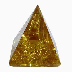 Fractal Resin Pyramid by François Godebski, 1973