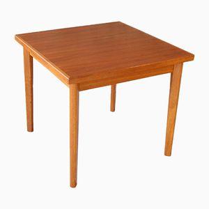 Mid-Century Extendable Teak Dining Table, 1960s