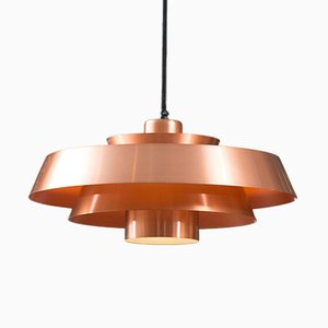 Vintage Nova Copper Pendant by Jo Hammerborg for Fog & Mørup