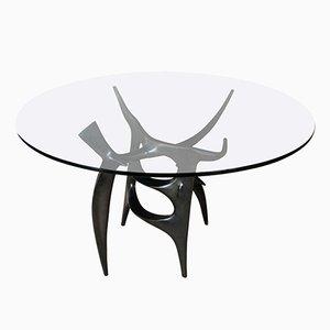 Französischer Gueridon Tisch von Victor Roman, 1970er