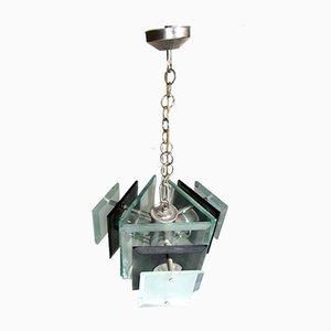 Lámpara de araña de Max Ingrand para Fontana Arte, años 50
