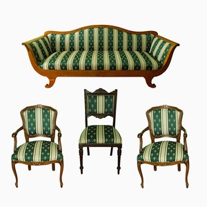 Antique Swedish Living Room Set