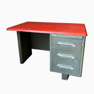 Vintage Metal Desk from Roneo, 1970s