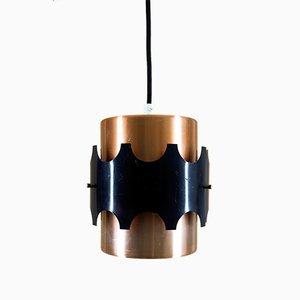 Lampe à Suspension Vintage de VEB Metalldrücker Halle/Saale