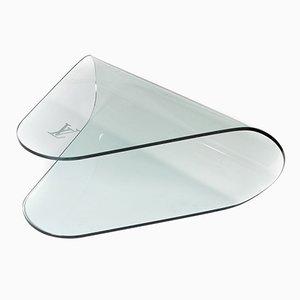 Vintage Tisch aus Hartglas von Louis Vuitton