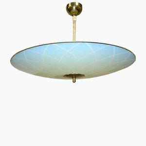 Lampe à Suspension Mid-Century, 1950s