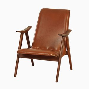 Teak Lounge Chair by Louis van Teeffelen for Wébé, 1960s