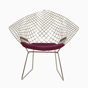 Mid-Century Diamond Chair von Harry Bertoia für Knoll, 1950er
