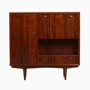 PSR-130 Rosewood Highboard by Marten Franckena for Fristho, 1962