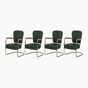 Armchairs from Fana, 1930s, Set of 4