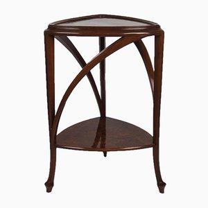 Mesa pedestal francesa antigua de Louis Majorelle para Atelier Majorelle