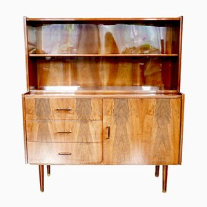 Veneer Cabinet from Obornickie Furniture Factory, 1960s