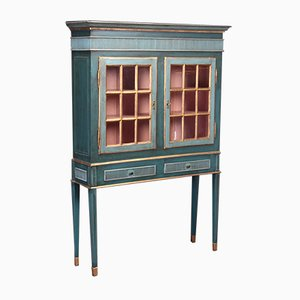 Antique Swedish Display Cabinet