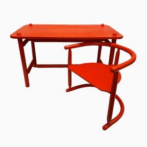 Scrivania e sedia Anna di Karin Mobring per Ikea, 1963