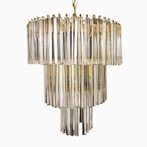 Handblown Glass Chandelier from Venini, 1980s