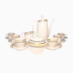 Vintage Aldona Porcelain Coffee Set by Józef Wrzesień for Chodzież