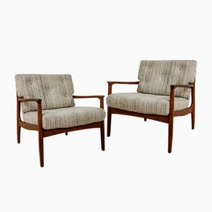 Organic Easy Chairs by Eugen Schmidt for Soloform, 1960s, Set of 2